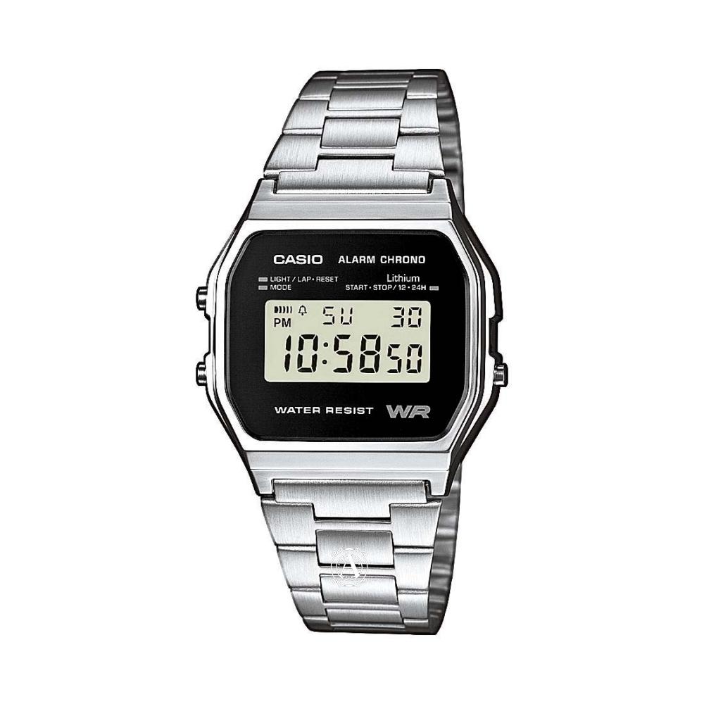 Casio Retro férfi óra A158WEA-1EF