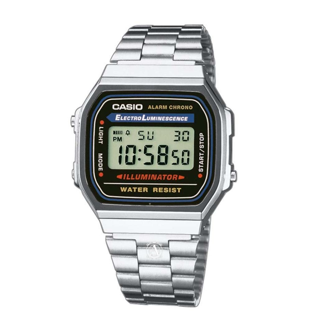 Casio Retro férfi óra A168WA-1YES