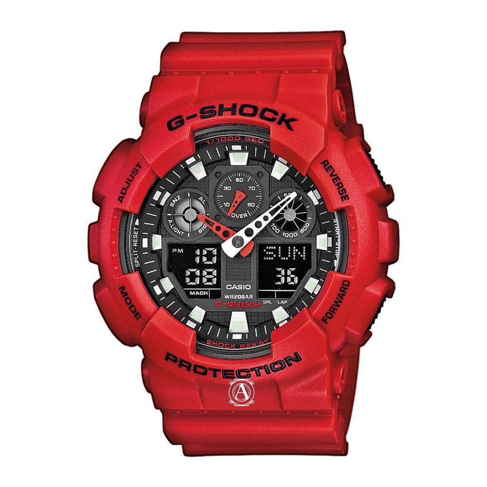 Casio G-Shock férfi óra GA-100B-4AER