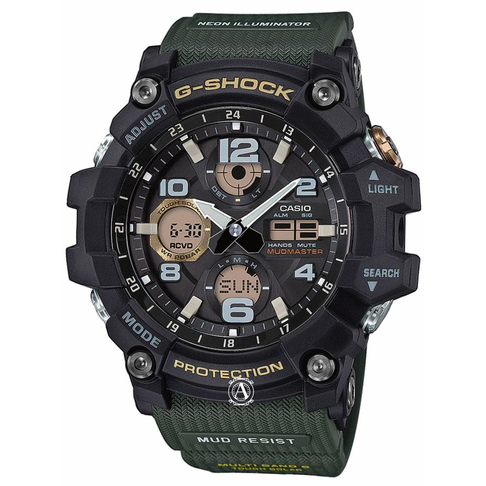 Casio G-Shock Mudmaster férfi óra GWG-100-1A3ER