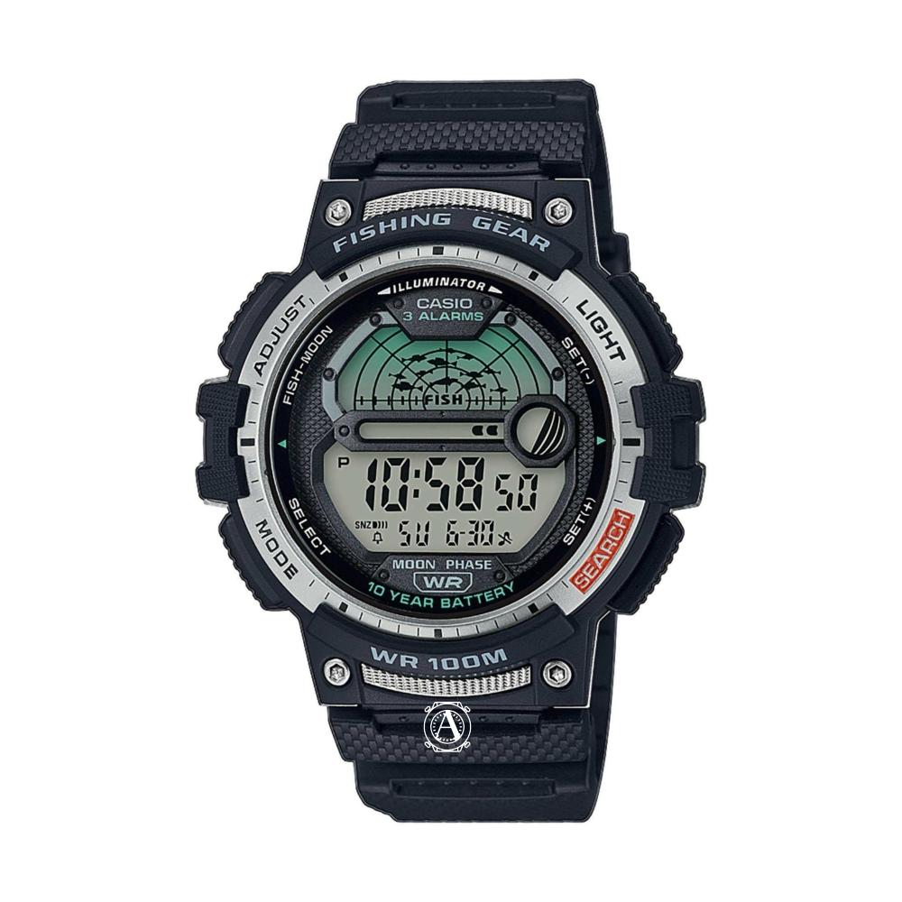Casio Fishing Gear férfi óra WS-1200H-1AVEF