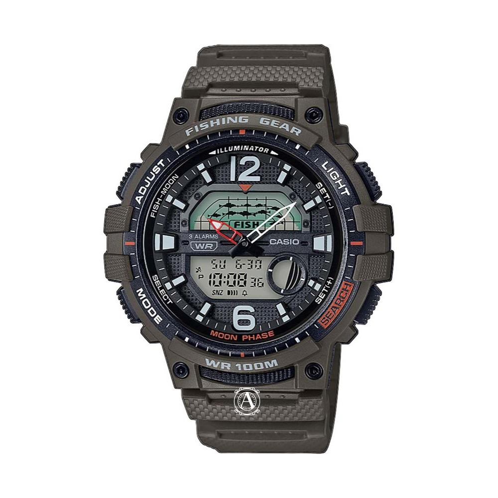 Casio Fishing Gear férfi óra WSC-1250H-3AVEF