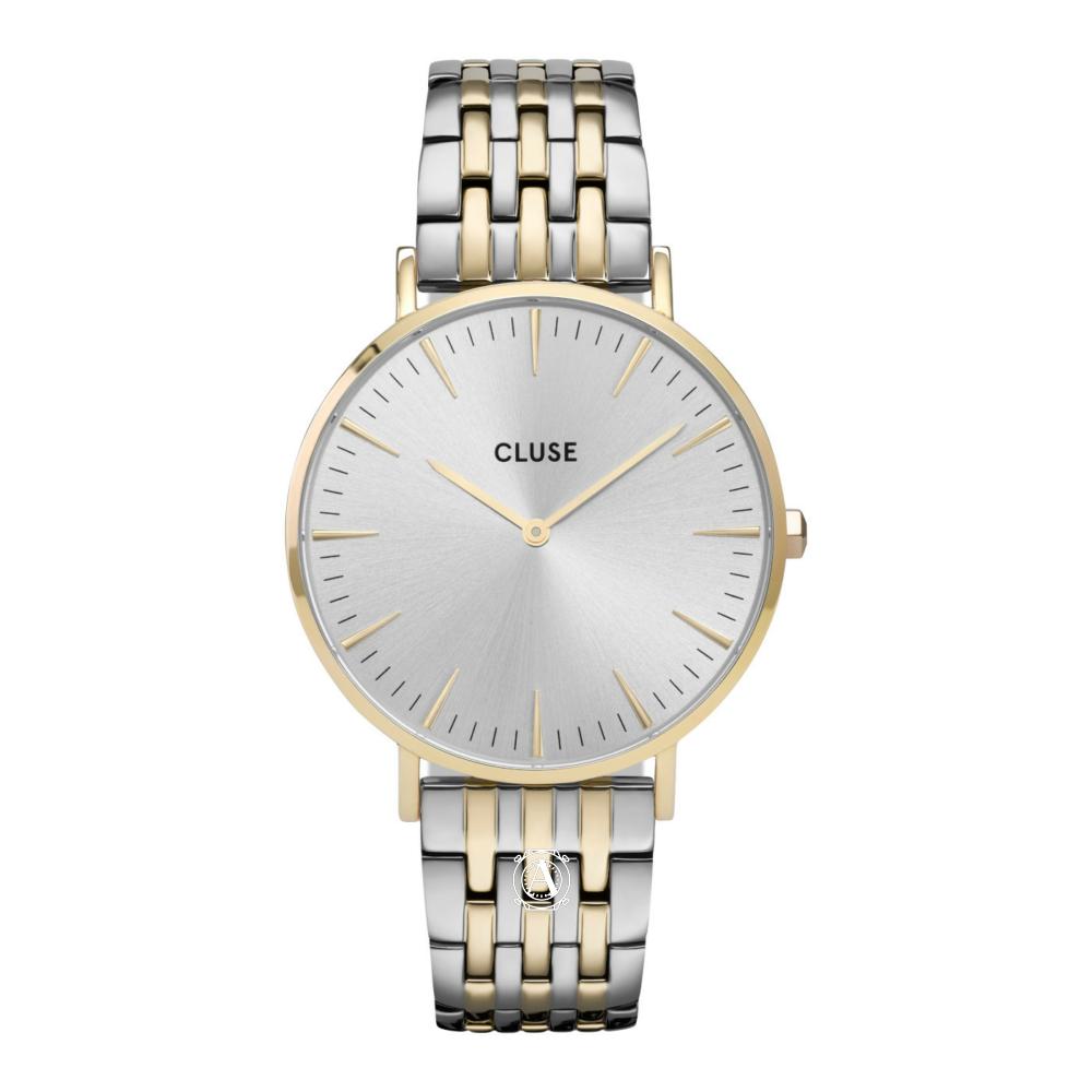 Cluse La Bohéme Multi Link Silver női óra CW0101201025