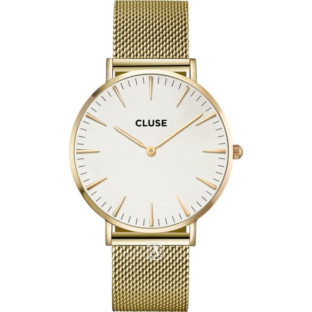Cluse La Bohéme Mesh Gold női óra CW0101201009