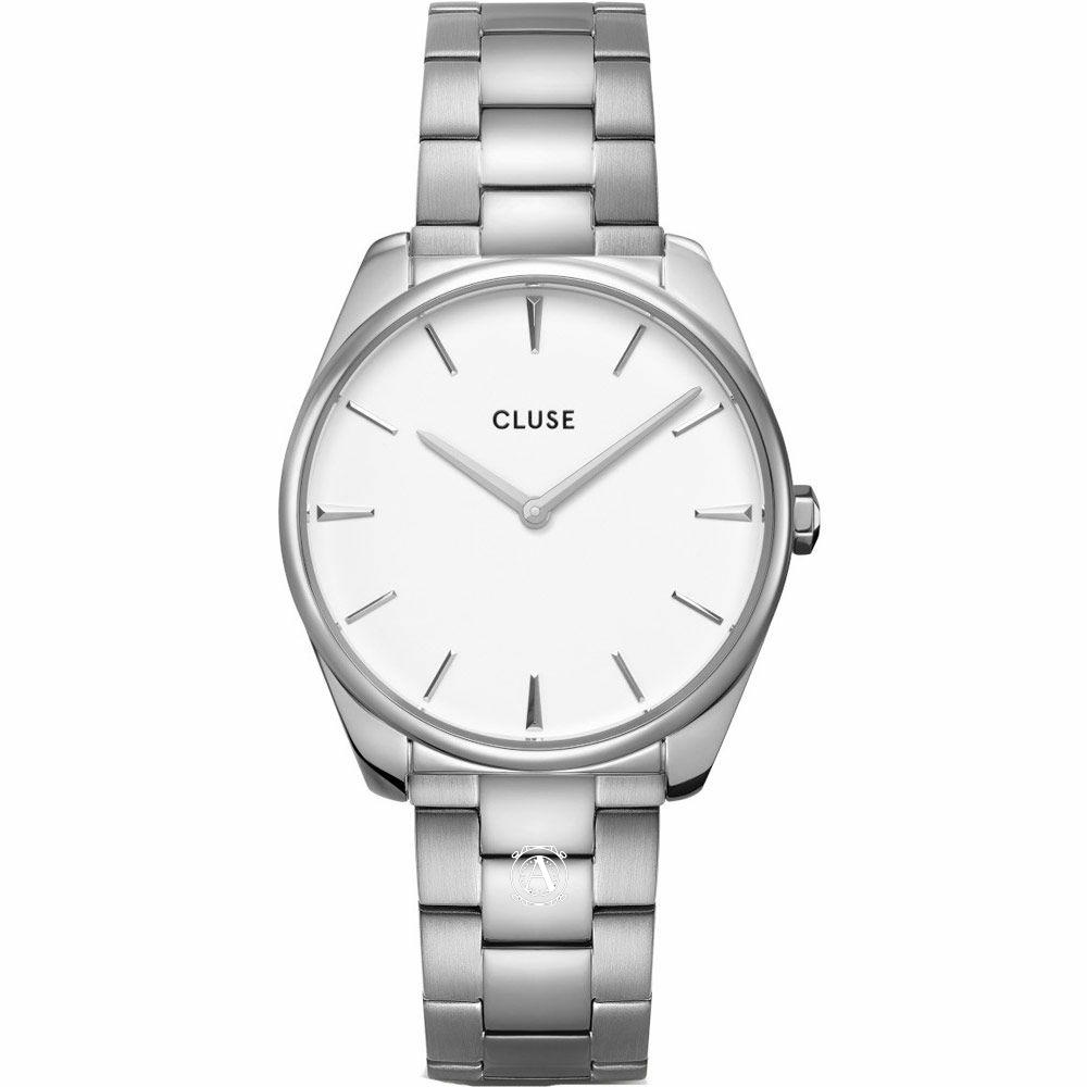 Cluse Féroce Steel Silver női óra CW0101212003