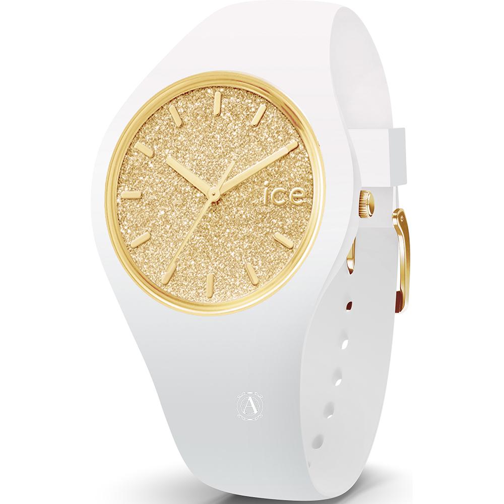 Ice Watch 001345 ICE Glitter White Gold Small óra