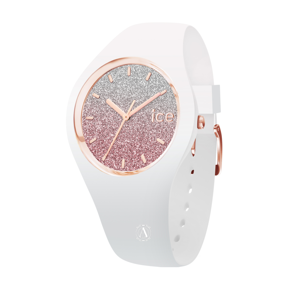 Ice Watch 013427 Ice Lo White Pink Small óra