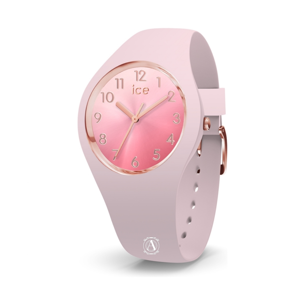 Ice Watch 015742  Ice Sunset Pink Small női óra