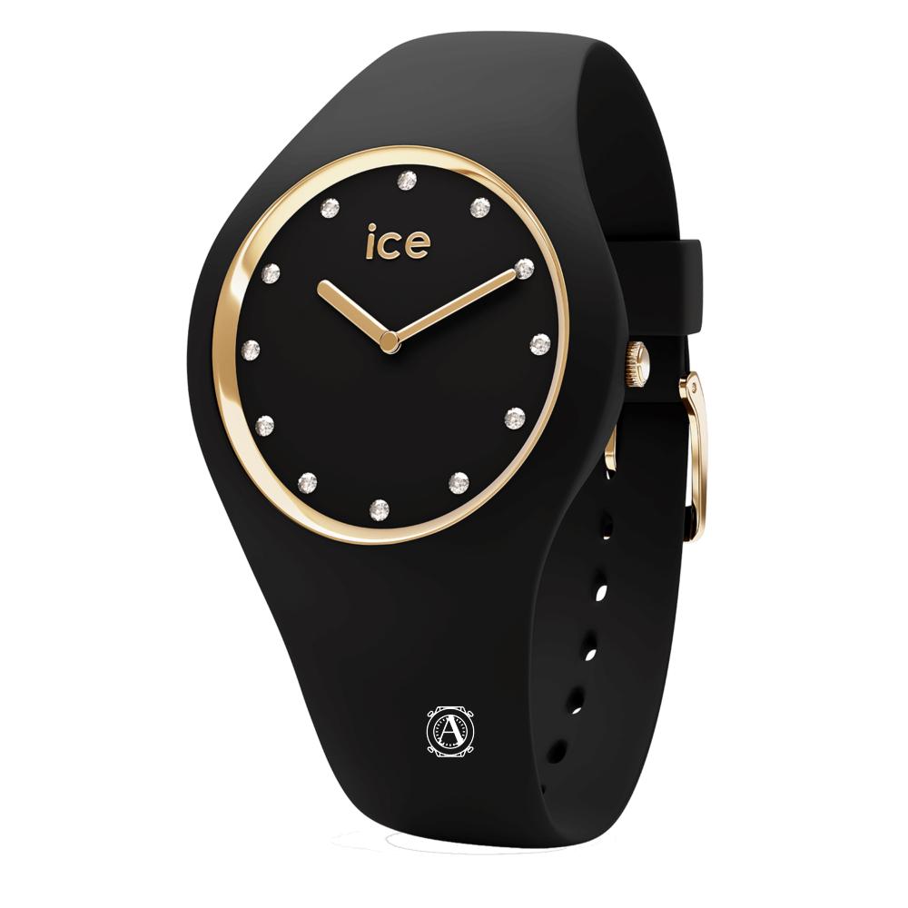 Ice Watch 016295  Ice Cosmos Black Gold Medium női óra