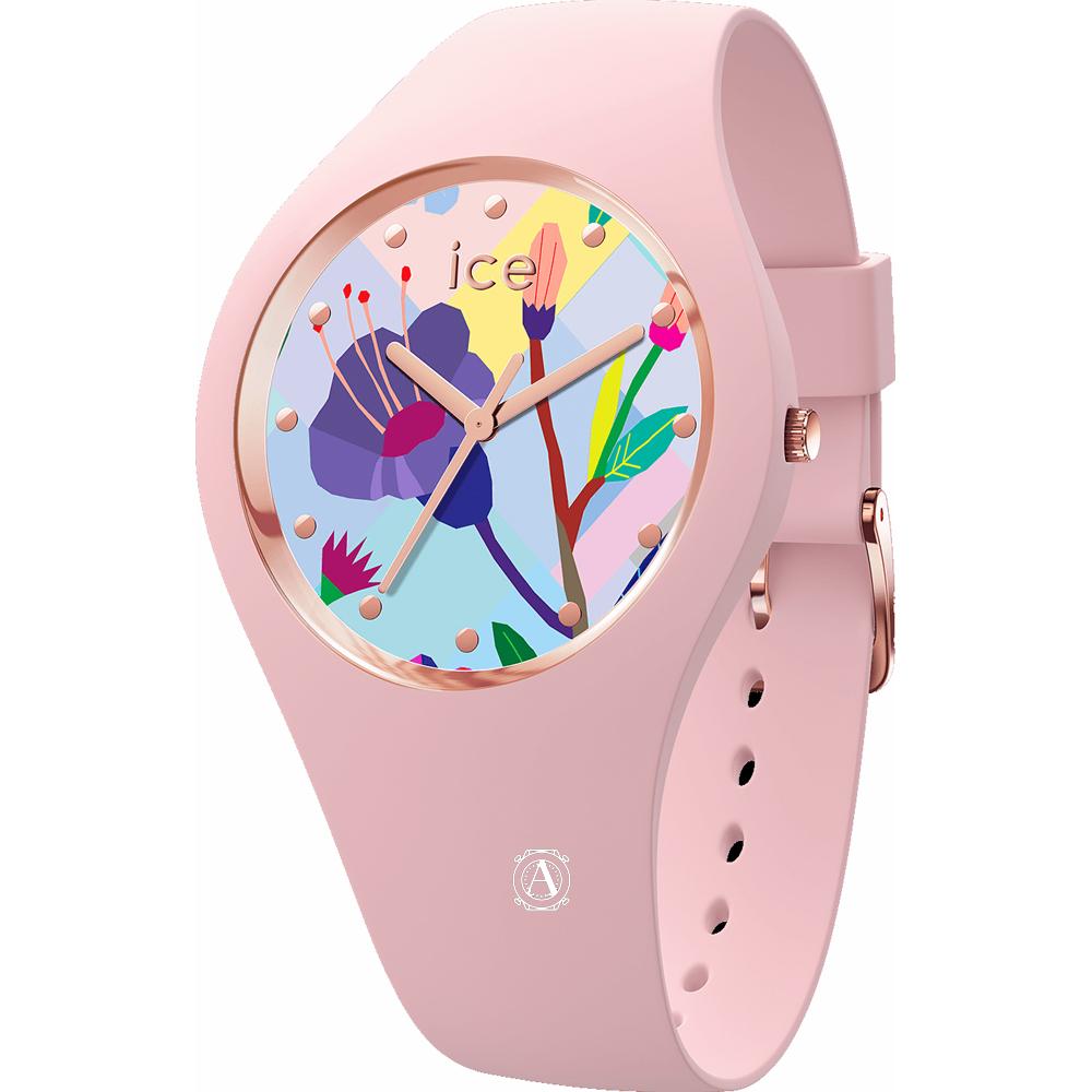 Ice Watch 016654 Ice Flower Pink Small óra