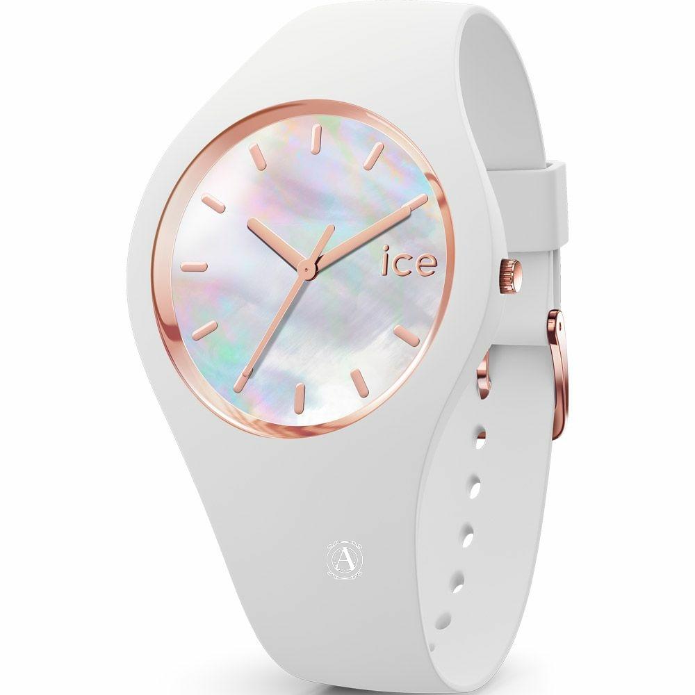 Ice Watch 016936  Ice Pearl White Medium női óra