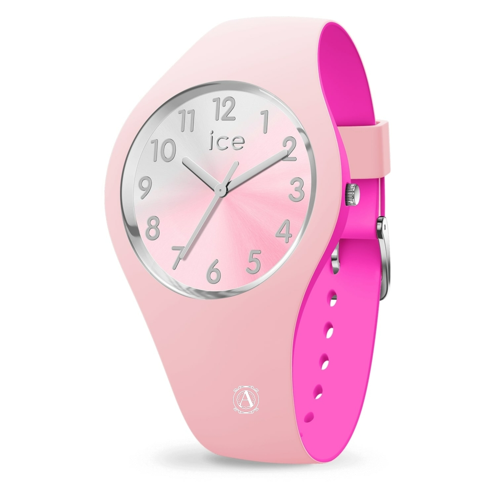 Ice Watch 016979 Ice Duo Chic Pink Silver Small óra